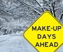 Snow Make-Up Day - April 27th